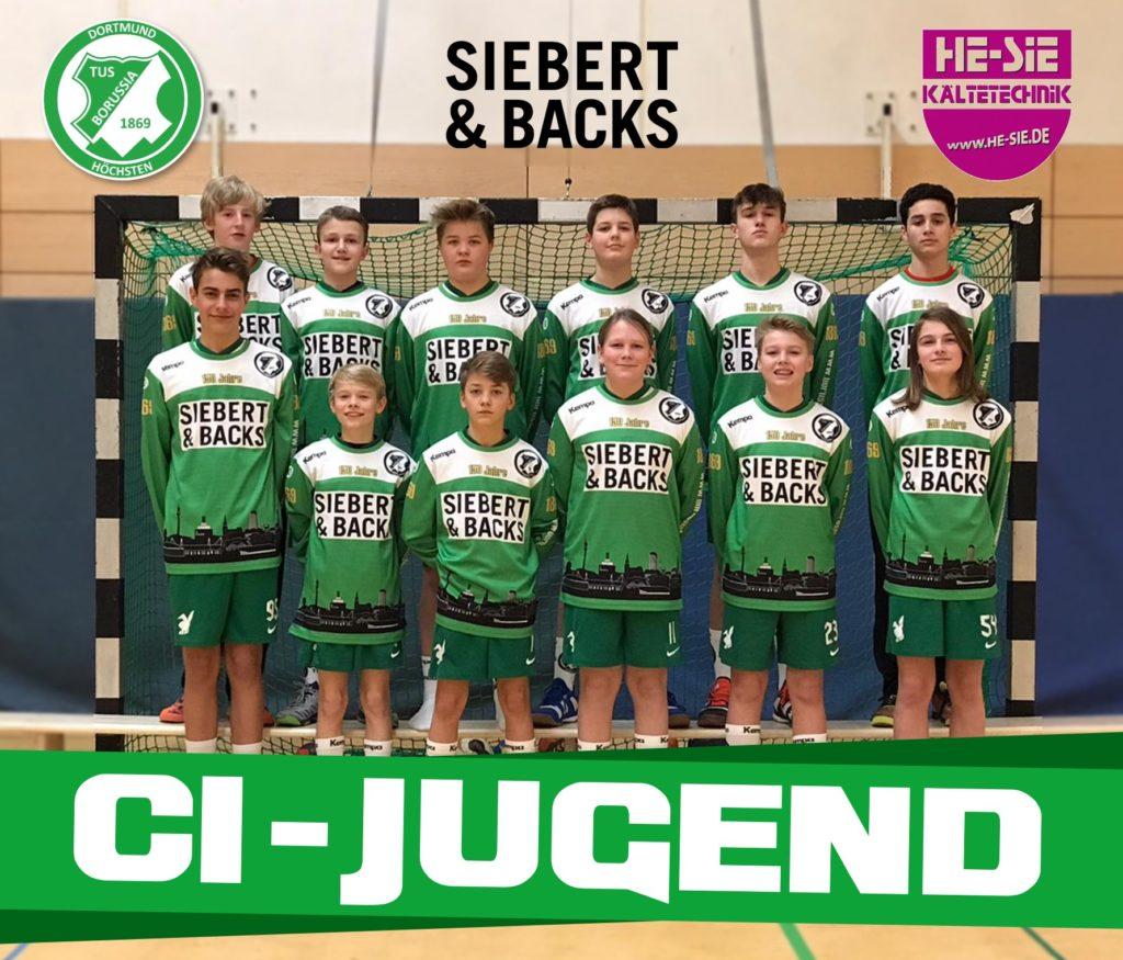 Die C1-Jugend des TBH.