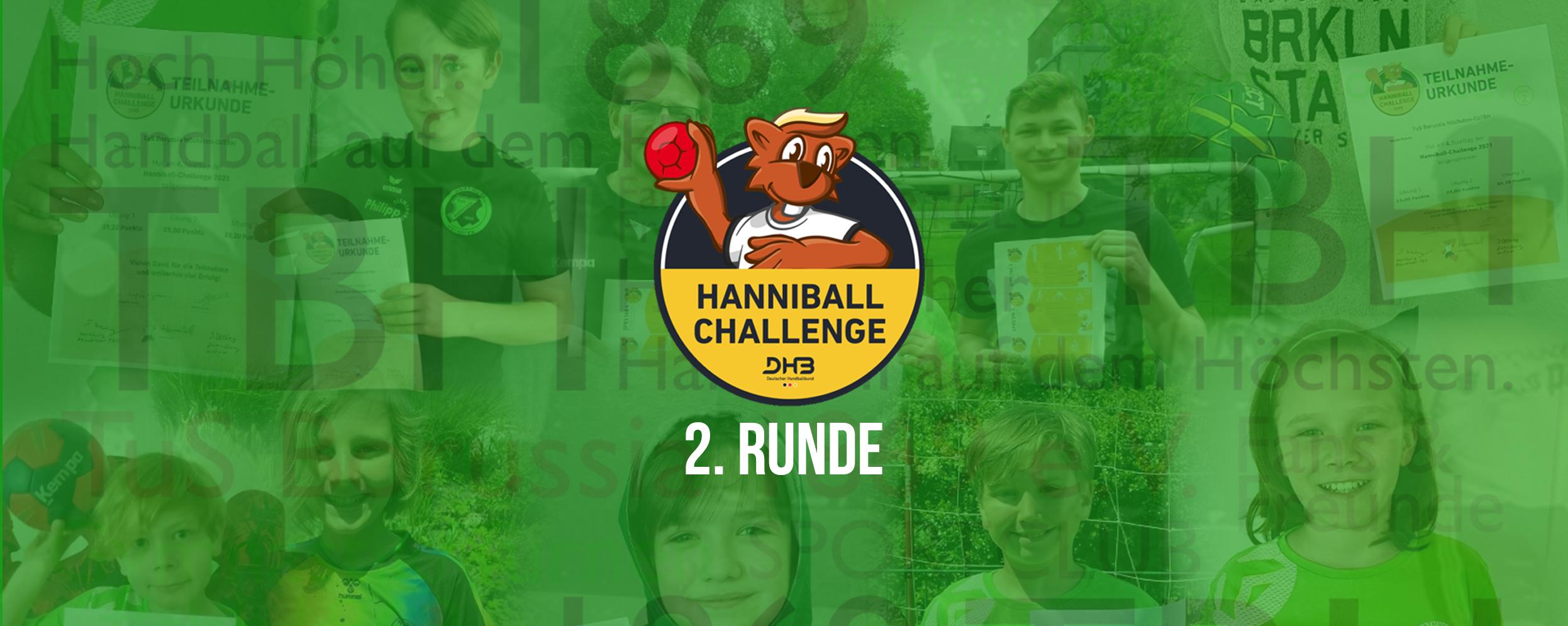 Banner zu Runde 2 der DHB-Hanniball-Challenge