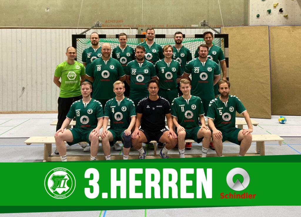 Mannschaftsfoto der 3.Herren